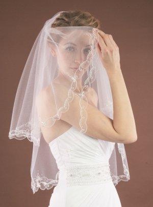 voile de mariée ivoire - ecru